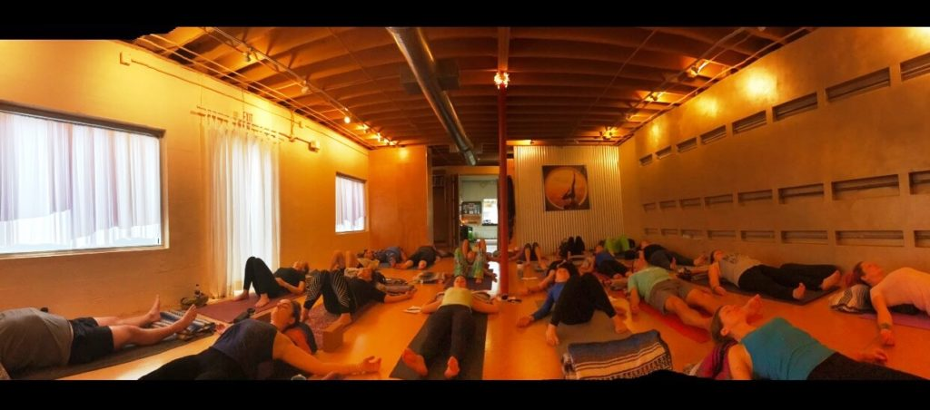 Dragonfly Yoga Studies FWB NY Day Restorative Yoga Class